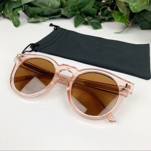 Bonnie Clyde Pink Amber Hill Sunglasses Like New!